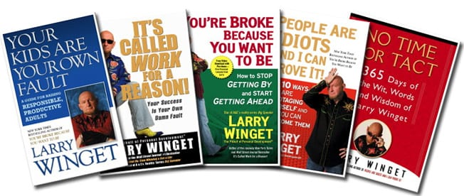 Denise Griffitts Interviews Larry Winget about A Year of Success on Your Partner In Success Radio